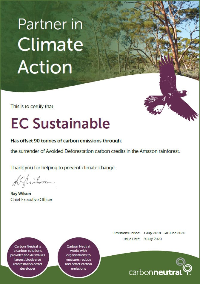 EC Sustainable Carbon Offset